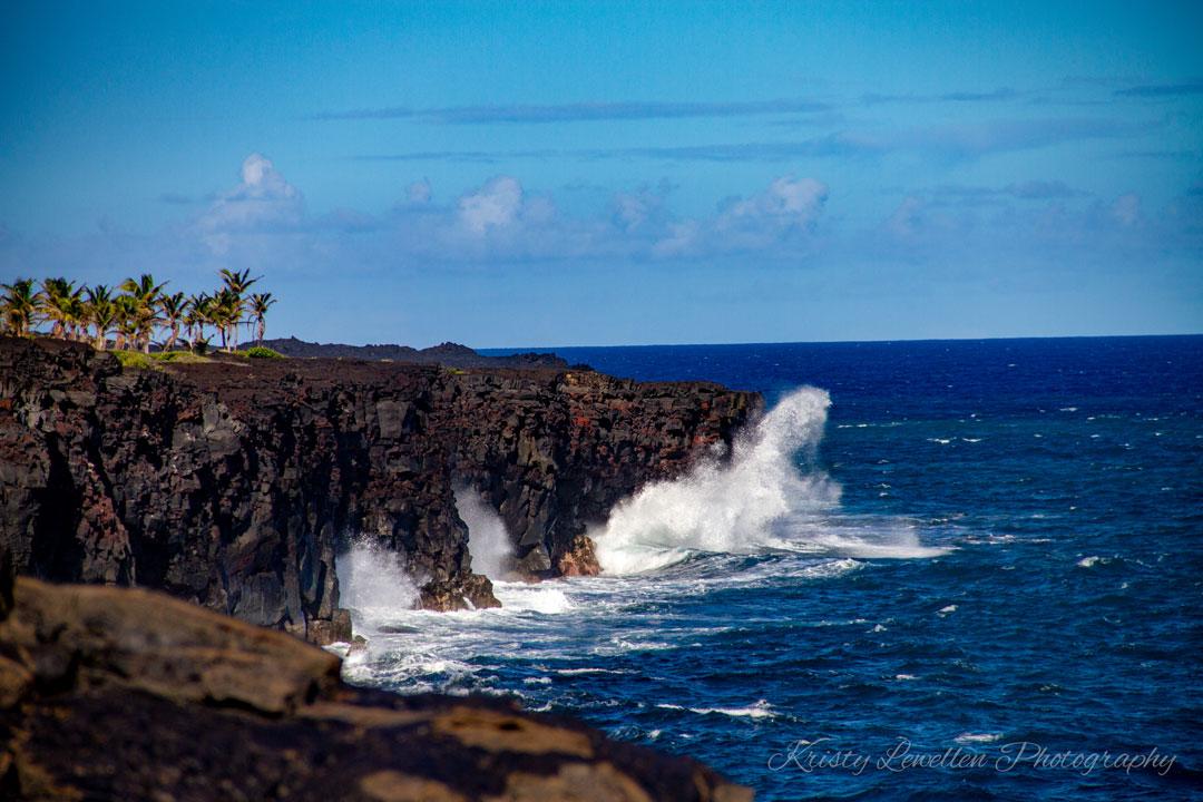 Lavas edge Maui